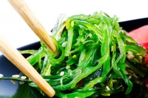 Chuka Seaweed Salad with sesame seeds